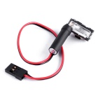Super Bright Automatic Xenon Flash Light for RC Multicopter - Black
