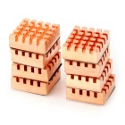 RHS-03 Copper Memory Cooler RAM Heatsink - Coppery (8PCS)