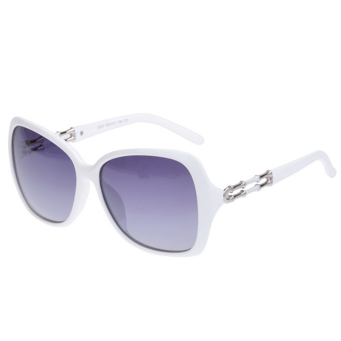 SENLAN 2924C5 Women's Fashionable Polarized Sunglasses - White