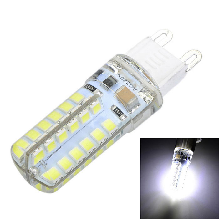 G9 6W 600lm 48-SMD 2835 LED Cold White Light Bulb (AC 220V)