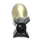 SYS0099 Creative Artillery Shape Butane Gas Lighter - Bronze
