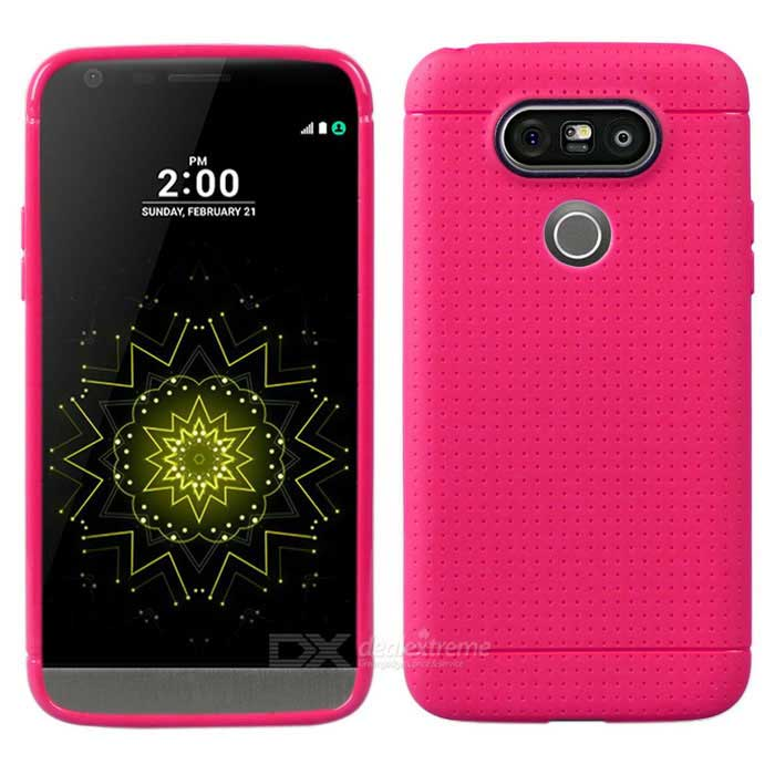 Protective TPU Back Case for LG G5 - Deep Pink