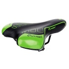 INBIKE Bike Bicycle Silicone Groove Seat Saddle Cushion - Black +Green