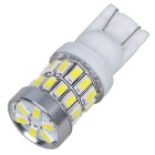 T10 18W 30-3014 SMD LED 270lm Neutral White Width Lamps (12~24V/2PCS)