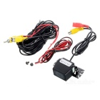 Universal External Mini Wired Auto Rearview Kamera - Schwarz