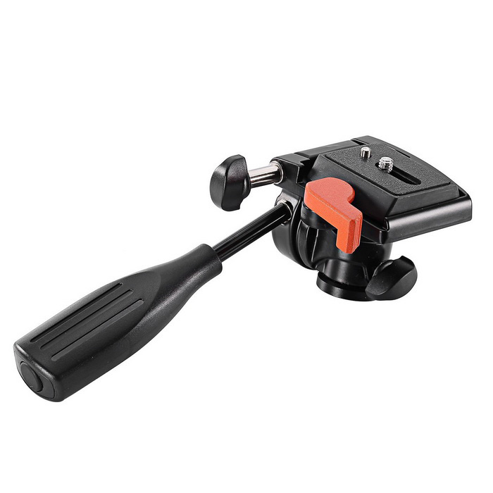 0-90 Multi-angle Degree Adjustable Pan Head - Black + OrangeOther Accessories<br>Form ColorBlack + OrangeMaterialAuminium AlloyQuantity1 DX.PCM.Model.AttributeModel.UnitPacking List1*Pan head<br>