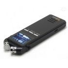 "FineSource VN-303 1.6 ""LCD 8GB USB Gravador de Voz MP3 Player - Preto"