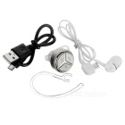 Mini Wireless Ear-gancho Stereo Bluetooth V4.1 Headset - Champagne Ouro