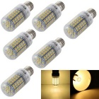 YouOKLight YK1055 E27 5.5W Warm White LED Light Bulb milho (6PCS)
