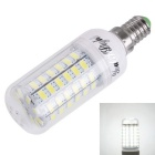 YouOKLight E14 4W 69SMD 5730 LED Corn Bulb Cold White Light AC110~120V