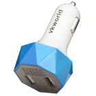 Vkworld C103 Quick Charge 2 Portas USB Car Charger Adapter - Azul