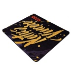 MAIKOU MK-400 400 * 450mm Rubber Mouse Pad Mat - Black + Yellow