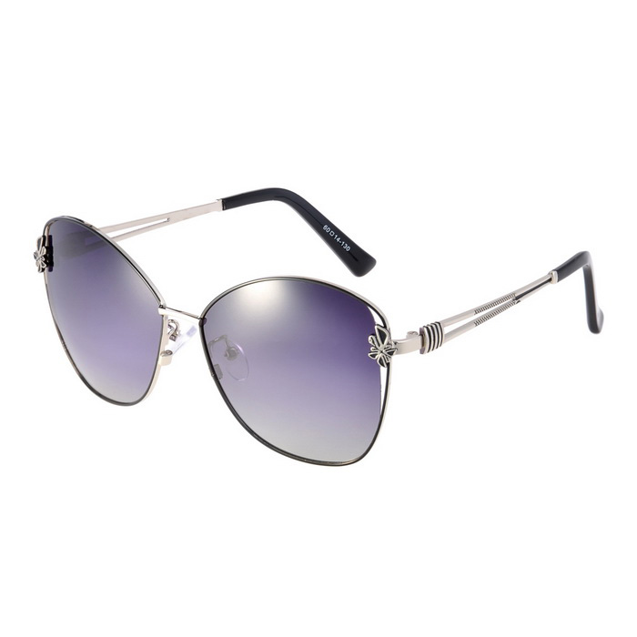 Senlan 9501C2 Women's Polarized Sunglasses - Black