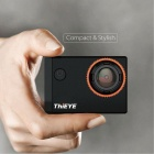 ThiEYE i60 Action Camera Wi-Fi 4K Sportkamera - Svart