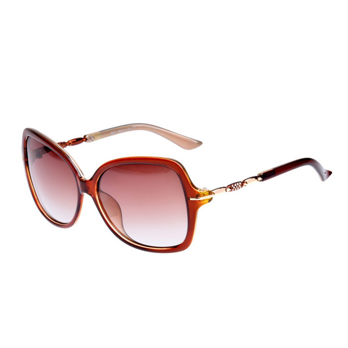 Senlan 2937C1 Women's Polarized Sunglasses - Brown