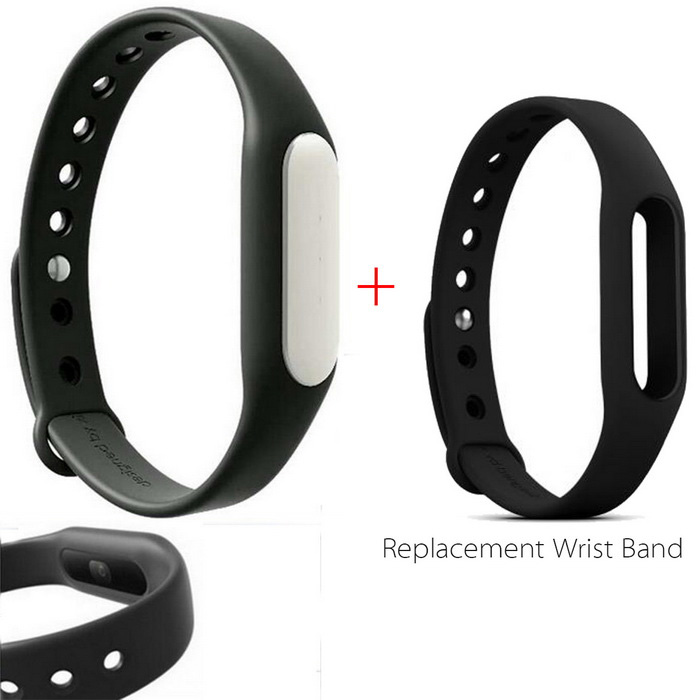 Xiaomi Mi Band 1S Smart Bracelet + Replacement Wristband - Black+BlackSmart Bracelets<br>Form ColorBlack+blackModelXMSH02HMQuantity1 DX.PCM.Model.AttributeModel.UnitMaterialAluminum alloy TPSIV+TPUWater-proofIP67Bluetooth VersionBluetooth V4.0Operating SystemAndroid 4.4,Android 4.4.1,Android 4.4.2,iOSCompatible OSAndroid 4.4 or above, Bluetooth V4.0<br>Suitable for IPHONE 4S/5/5C/5S/6/6 plus with iOS 7.0 or aboveBattery Capacity45 DX.PCM.Model.AttributeModel.UnitBattery TypeLi-polymer batteryStandby Time10 DX.PCM.Model.AttributeModel.UnitPacking List1 * Bracelet1 * Black Wristband(TPSIV)1 * Chinese user manual1 * Charging cable (15cm)1* Replacement Wristband(TPU)<br>