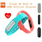 Xiaomi Mi Band 1S Smart Bracelet + Replacement Wristband -Black+Yellow