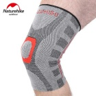 NatureHike Seamless High Elasticity Knee Pad - Black + Grey (L)