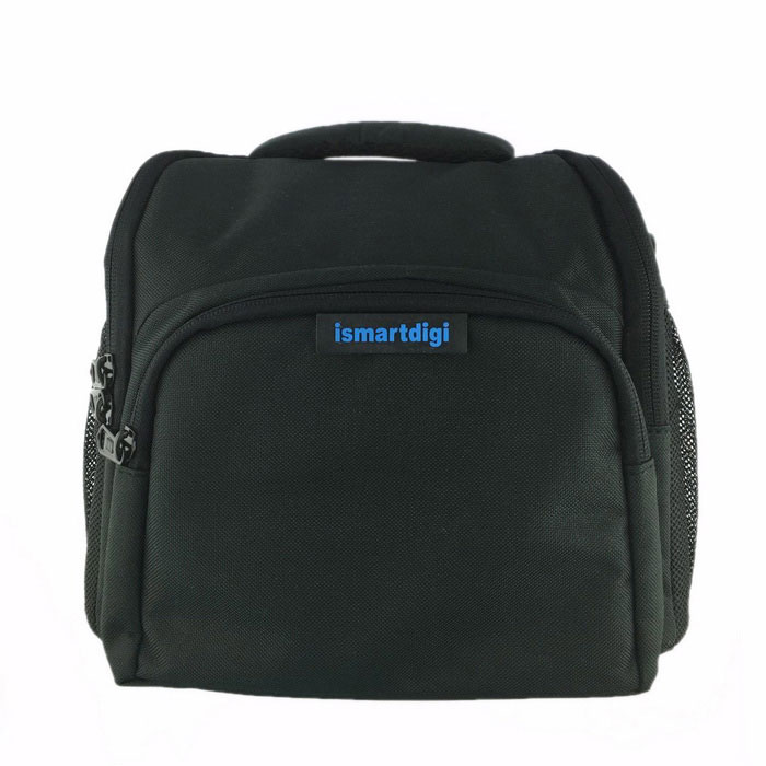 Ismartdigi i102 Camera Bag for DSLR DV Nikon Canon Sony - Black