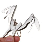 Outdoor Multifunctional Tool Mini Folding Pliers - Silver