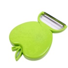 ZIQIAO Apple Shaped Fold Fruit Peelers (2PCS/Random Color)