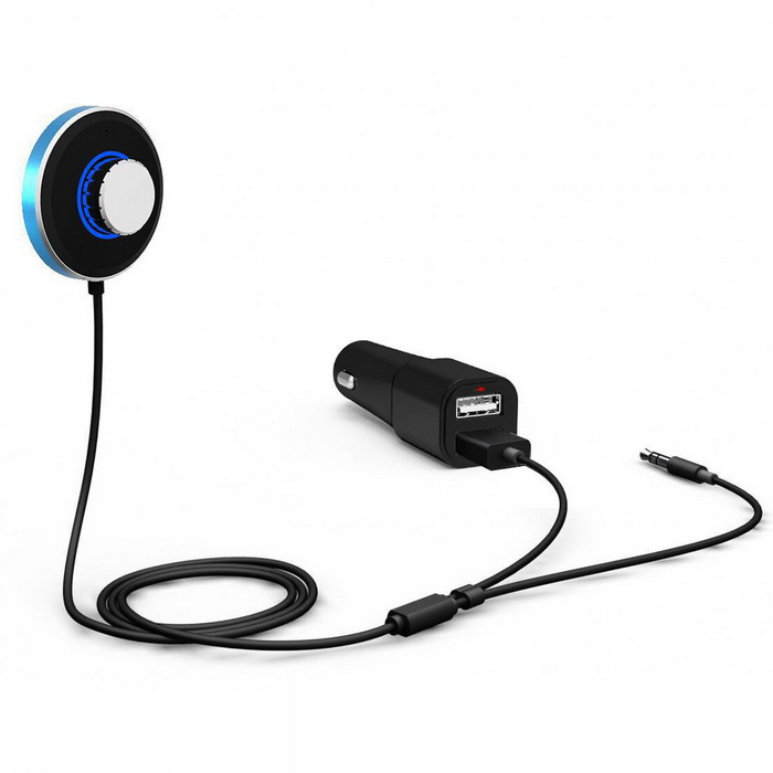 Bluetooth V4.0 Car Kit Handsfree Talking Wireless Audio Receiver