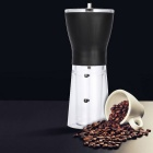 Portable Manual Coffee Bean Grinder Mill Kitchen Grinding Tool - Black