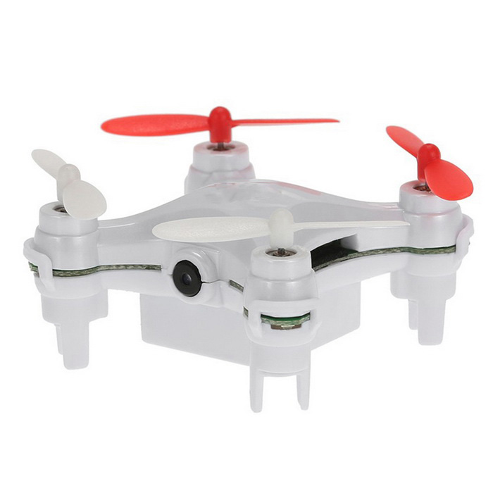 Original L7C 2.4G 4CH 6-Eje gyro RC mini quadcopter - blanco