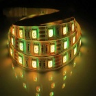 7.2W USB 30-SMD 5050 RGB 50cm LED Vattentät Strip Light-Vit