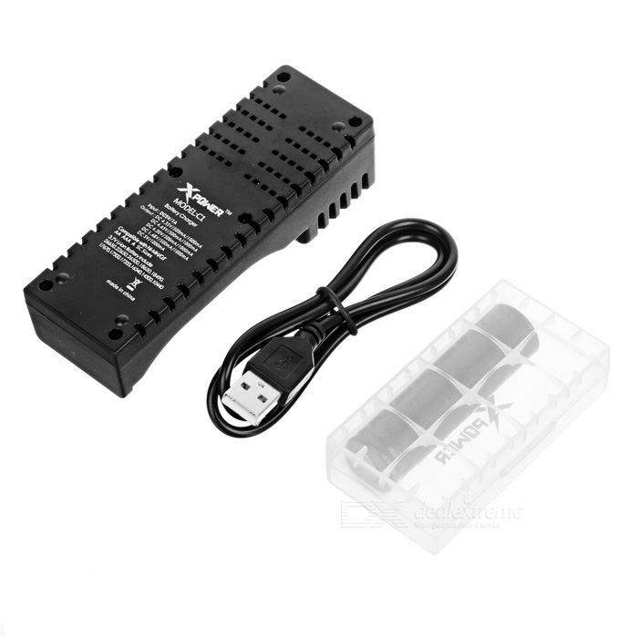 Xpower C1 Charger 2200mah 18650 Imr Battery Battery