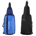 NatureHike Waterproof Single Shoulder Chest Bag - Blue + Black (8L)