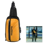 Light Weight Light Rain-proof Sweat Absorption Chest Bag w/ Adjustable Shoulder Strap