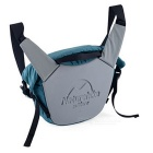 NatureHike Casual ombro único Messenger Bag - Azul Peacock (8L)