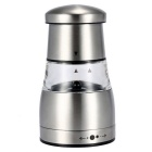 Stainless Steel Portable Manual Pepper Grinder Muller - Silver
