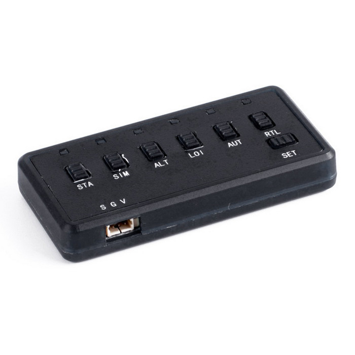 6-CH Flight Mode Switcher - Black