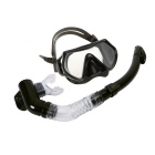 Anti-fog Diving Equipment Adjustable Swimming Goggles - Black