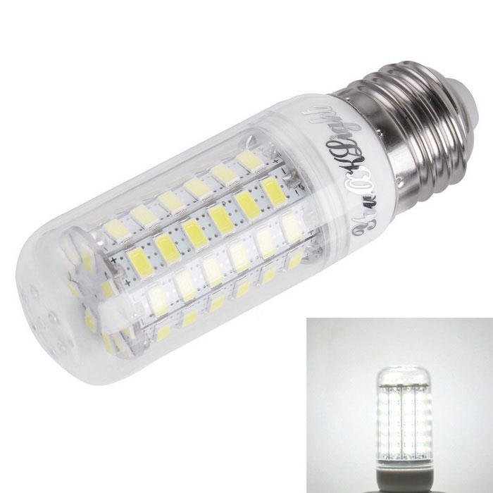 YouOKLight E27 4W 69-SMD 5730 Cold White LED Corn Bulb (AC 220~240V)