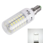 280lm 360-Degree Beam Angle 69-SMD 5730 LED Lamp - Transparent + White