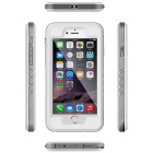 WPC-01 cubierta impermeable del caso de PC + TPU para IPHONE 6 / 6S - blanco