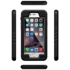 WPC-01 Funda impermeable para IPHONE 6 / 6S - Negro