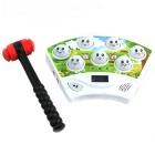 Puzzle Play Hamster Game Machine - White + Multi-Colored