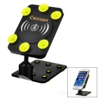 Cwxuan Mini Folding Qi Wireless Charger - Black + Yellow Green