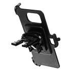 Car Air Outlet Mount + Phone Holder for Samsung Galaxy S7 - Black