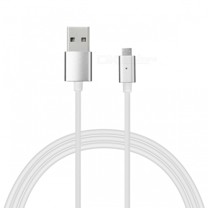 Micro USB Detachable Magnetic Adhesion Data Sync Charging Cable (1.2m)