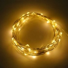 JIAWEN 3W Warm White Light LED String Light - Silver (5*1m / DC 12V)