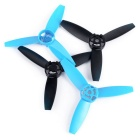 3-Blade Propellers for Parrot Bebop Drone 3.0 - Blue + Black (4PCS)
