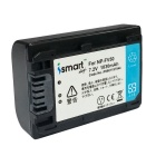 ismartdigi FV50 Digital Camera Batteries + Dual Charger - Black