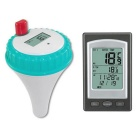 Wireless Digital Swimming Pool Floating Thermometer - Blue + White