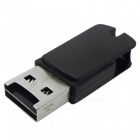 Rotary USB 2.0 to Micro USB OTG Adapter + Micro SD TF Card Reader