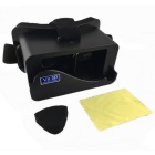 VR-88AVR3D Head Mount Virtual Reality Video Glasses - Black